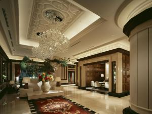 The lobby or reception area at Hotel La Suite Kobe Harborland