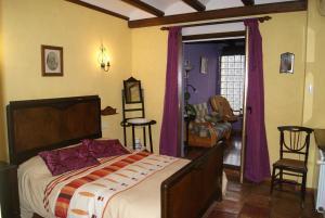 Cama o camas de una habitación en Casa Pilar