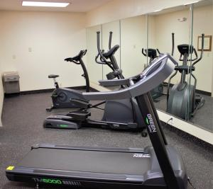 The fitness center and/or fitness facilities at Ramada by Wyndham Wentzville