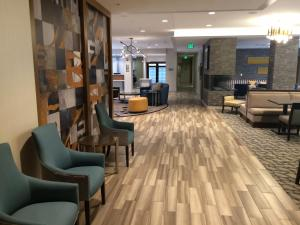 The lobby or reception area at Homewood Suites by Hilton Boston/Brookline