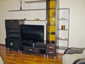 Телевизор и/или развлекательный центр в Apartment in Center on Lomonosova55