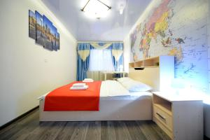 A bed or beds in a room at Five Stars Family
