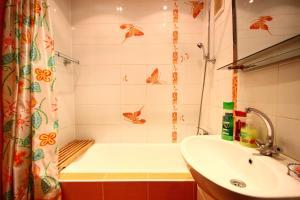Ванная комната в Апартаменты на Ленина 35 А