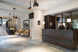 The lobby or reception area at Bilderberg Hotel De Bovenste Molen