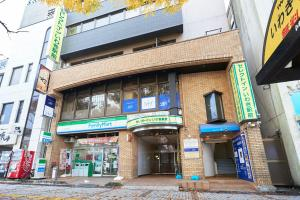 The building where the economy hotel is located