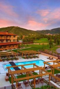 A view of the pool at Hotel Park City, Autograph Collection or nearby