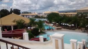 A view of the pool at Lacqua Diroma Apartment or nearby