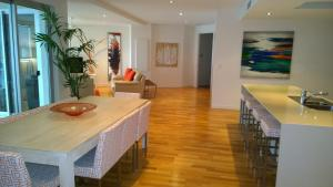 The lobby or reception area at Coral Cove Apartments