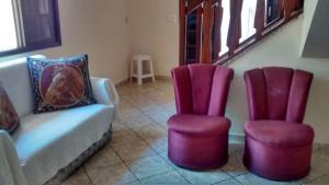 A seating area at Casa Oliveira