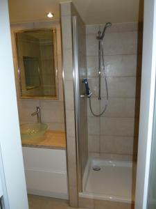 Ein Badezimmer in der Unterkunft Business Apartments Sonne Mond Sterne