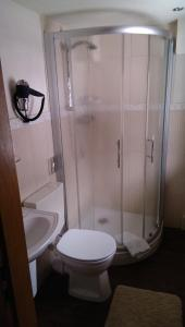 Ein Badezimmer in der Unterkunft Landhaus Meyer