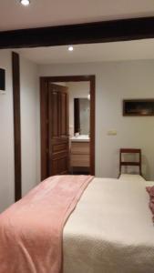 Cama o camas de una habitación en Kapel Etxea