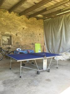 Ping-pong facilities at Gites du Manoir or nearby