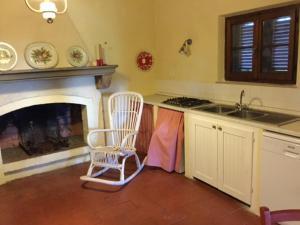 Cucina o angolo cottura di Podere il Castellaccio Pianetti