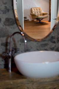 Ванная комната в Ferienwohnung Schwert