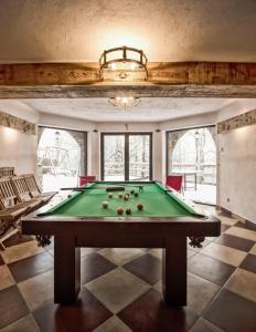 A pool table at Zakopane Best