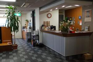 The lobby or reception area at Annex Katsutaro Ryokan