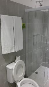 A bathroom at Mr. Hostel Business Lodge