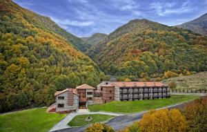 Vedere de sus a Hotel Kaimak Inn