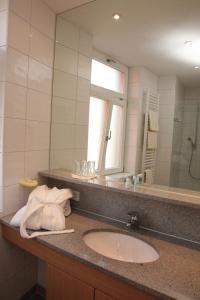 Ein Badezimmer in der Unterkunft Gasthof Hotel Bauer