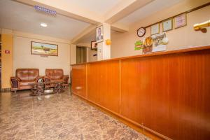 The lobby or reception area at Eland Safari Hotel Nyeri