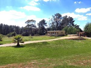 Taman di luar Cabaña Algarrobo con piscina - Parcela