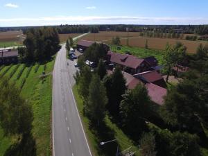 Majoituspaikan Kartano Hostel kuva ylhäältä päin