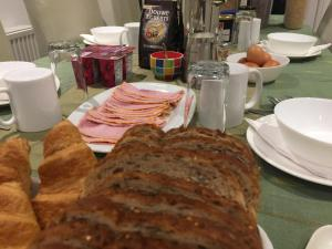 Breakfast options available to guests at Hazel Residence