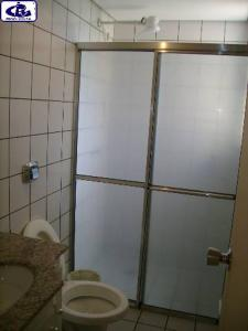 A bathroom at Sol das Caldas