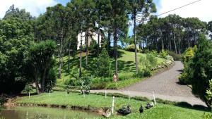 A garden outside Hotel San Ghermann