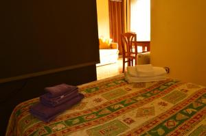 Cama o camas de una habitación en Estudio Jose Barbastre