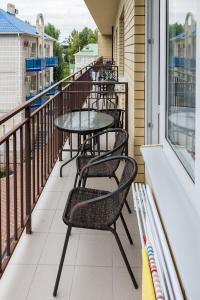Балкон или терраса в Hotel Morskaya Volna