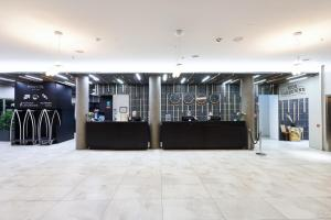 The lobby or reception area at Fosshotel Reykjavík