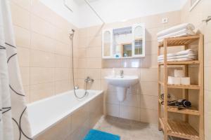 Un baño de Nova Aparthotel