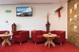 TV/Unterhaltungsangebot in der Unterkunft Hotel Garni Passeier