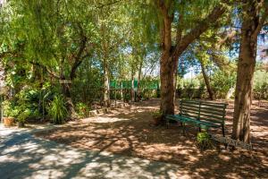A garden outside Azul