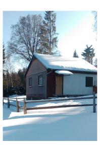 Kemp Horní Bečva v zimě
