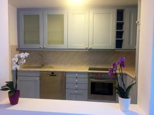 Küche/Küchenzeile in der Unterkunft Apartment Ardi II