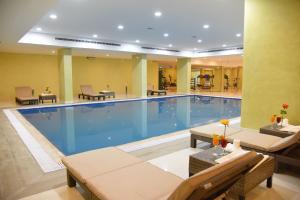 المسبح في كليمانس للأجنحة الفندقية أو بالجوار