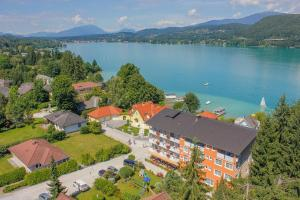 A bird's-eye view of Flairhotel am Wörthersee