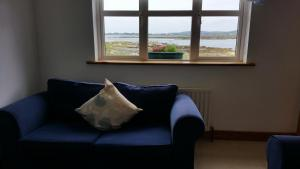 A seating area at Connemara Cottage