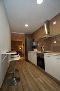 Una cocina o zona de cocina en Casa El Carolino