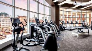 The fitness center and/or fitness facilities at The Westin Buffalo