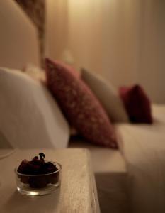 Cama o camas de una habitación en Casa El Carolino