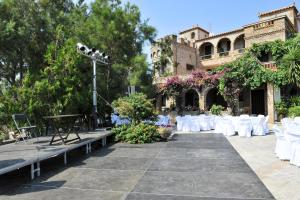 Banquet facilities at the villa