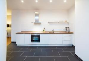 Küche/Küchenzeile in der Unterkunft BENSIMON apartments
