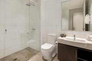 A bathroom at Quest Macquarie Park