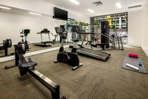 The fitness center and/or fitness facilities at Quest Macquarie Park