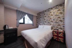 ホテル ファン リンセンにあるベッド