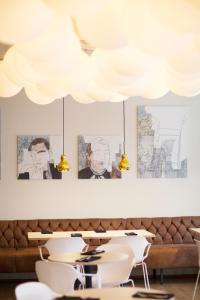 A restaurant or other place to eat at Hotel Reykjavík Centrum
